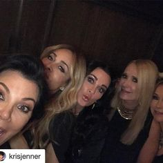 "Thank u for these sweet words. Love you Kris. You're always loving , supportive & loyal . AND we always have fun!! XXOO ❤#Repost @krisjenner ""The best night last night celebrating @kathyhilton birthday!!! These are ride or die girlfriends who I have spent 35 years of my life sharing life love sadness joy and endless celebrations over the years together...Kathy had my baby shower when I gave birth to Kendall and Khloe was best friends growing up with Kim's kids.. Paris Nicky Kim Khloe and…"