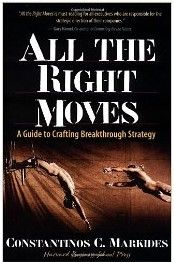 This book offers concrete advice for thinking through the tough choices that all business strategists must face. It distills the important elements of strategy into a system for crafting today's and tomorrow's breakthrough business strategies.  Cote: 4-22 MAR
