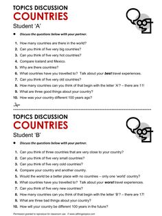 Countries, English, Learning English, Vocabulary, ESL, English Phrases, http://www.allthingstopics.com/countries.html