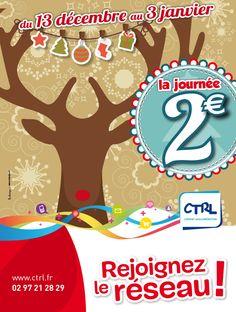 Affiche de la campagne de Noël de la #CTRL en #2014 #LCDesign