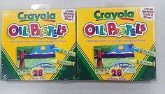 Crayola Colored Oil Pastel Sticks 28 Count - 2 Packs