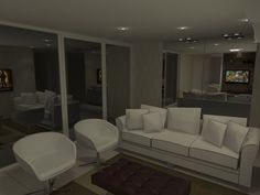Sala Íntima - Apartamento Residencial - Cobertura