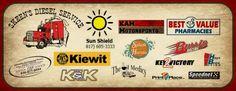 2013 KAM Kartway Track Sponsors www.kamkartway.com