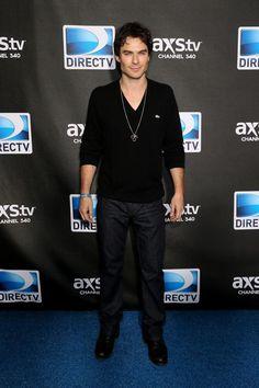 """Ian Somerhalder kam zum TV Abend """"DirecTv Super Saturday Night"""" in New-Orleans, am 2 Februar 2013."""