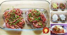 Skvelý obed zo šťavnatého mäska zapečeného so zeleninou a lahodnou smotanou, ktorá jedlu dodá jemnosť a úžasnú chuť. Dajte si namiesto vyprážanej klasiky niečo zdravšie a aj tak úžasne chutné!