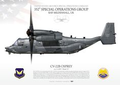 UNITED STATES AIR FORCE SPECIAL OPERATIONS COMMAND352nd Special Operations Group.RAF MILDENHALL, UK
