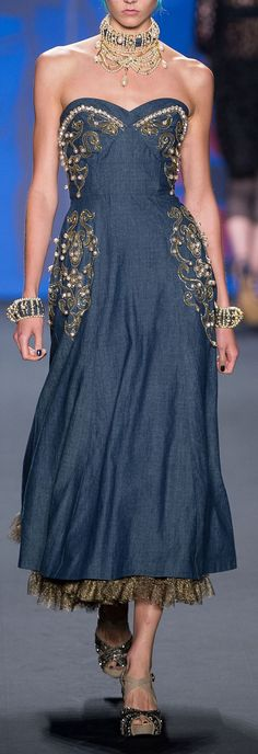 Anna Sui RTW S/S 2013 LOVE this!!!!