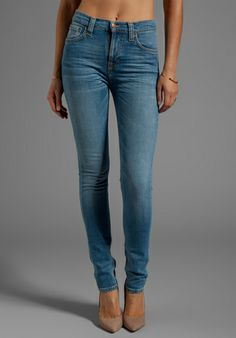 NUDIE JEANS Tight Long John in Org Rainy Grey