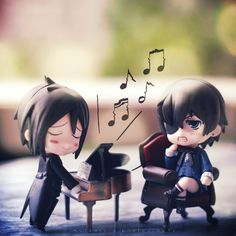 Serenade - Kuroshitsuji by ilovestrawberries (Carmi), via Flickr