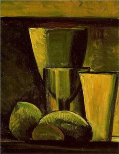 Still life - Pablo Picasso, 1908