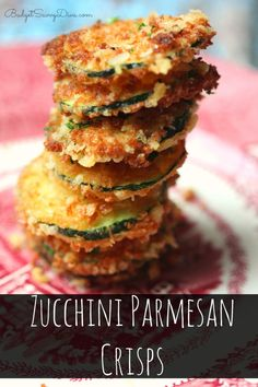 VERY Addicting - Healthy Snack that you can make in under 15 minutes! Your family is going to love it! Zucchini Parmesan Crisps Recipe | Budget Savvy Diva