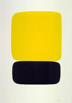 Yellow Over Black de l'artiste Ellsworth Kelly