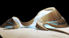 Architectural Model (MAD Architects-Harbin Opera House) on Behance