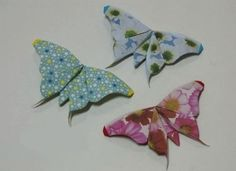 How to origami butterfly - realistic look good butterfly origami tutorial Origami Butterfly Easy, Origami And Quilling, Origami Easy, Origami Paper, Origami Tutorial, Origami Moth, Origami Garland, Photo Album Scrapbooking, Paper Beads