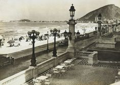 Praia de copa vista do Copacabana Palace