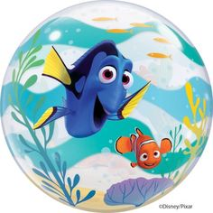 Finding Dory Jumbo Bubble Balloon Party Supplies Canada - Open A Party