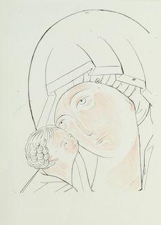 02 Rublev Mother of God 2 Orthodox Christianity, Orthodox Icons, Byzantine, Madonna, God, Artwork, Painting, Mani, Studio