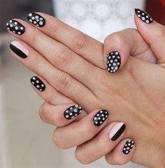 12 Fantastically Fun And Feminine Polka Dot Nails