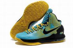 Cheap KD 5 Shoes Yellow Blue Black Sale, cheap Nike KD 5 Shoes, If you want  to look Cheap KD 5 Shoes Yellow Blue Black Sale, you can view the Nike KD  ...