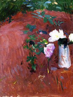 Garden Sketch   John Singer Sargent   oil painting