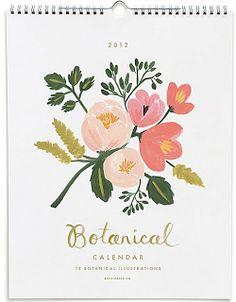 New Office Botanical Calendars http://www.papersource.com/office/calendars.html