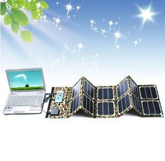 98.99$  Watch here - http://ali24e.worldwells.pw/go.php?t=32623743502 - Free shipping 40W 18V Sunpower  Foldable Solar Panel Battery Charger with Dual-port (18V DC&5V USB) Output 98.99$
