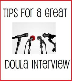 Tips for a Great Doula Interview