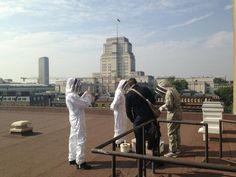Bee keeping by Senate House