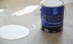 Kapataz - Ideas & Tools For Building: Como pintar el suelo de cemento