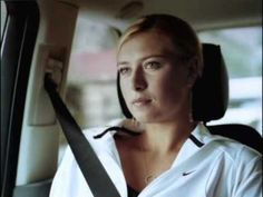 Sharapova - Nike Commercial 'I feel pretty' LOVE THIS! as a fellow female athlete I feel like people ( a lot of times men ) think that a woman are weak and can't play sports, and in this commercial she shuts them up