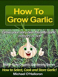 How to Grow Garlic: How to Select, Cook and Store Garlic (Organic Gardening Series Book 3) by Michael O'Halloron, http://www.amazon.com/dp/B00H2A231K/ref=cm_sw_r_pi_dp_5ighub17BNM51