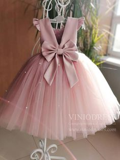 Buy Lovely Pretty Pink Round Neck Tulle Flower Girl Dresses, Cheap Wedding Little Girl in uk. Find the perfect flower girl dresses at PromDress. Our flower girl dresses come in a variety of styles & colors including lace, tulle, purple & gold Princess Flower Girl Dresses, Tulle Flower Girl, Princess Ball Gowns, Wedding Flower Girl Dresses, Pink Tulle, Baby Girl Wedding Dress, Dress Wedding, Tulle Wedding, Baby Girl Birthday Dress