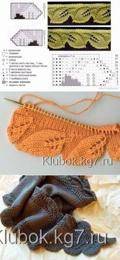 Crochet baby poncho pattern hoods 56 Ideas for 2019 Lace Knitting Patterns, Knitting Stiches, Knitting Charts, Free Knitting, Crochet Stitches, Stitch Patterns, Crochet Baby Poncho, Knit Crochet, Knit Edge