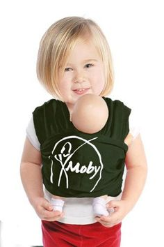 Mini Moby Doll Carrier - Forest