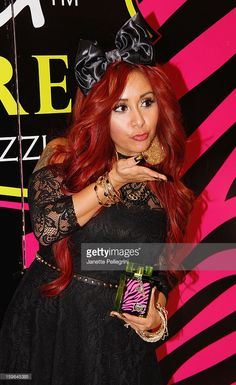 fe5f5b4de394 Nicole  Snookie  Polizzi attends the Snooki Couture  amp  Snooki Nails  launch at Perfumania