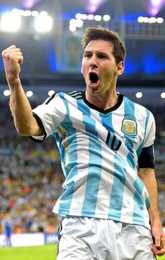 Messi. Can't help it he's my favorite little guy #Argentina