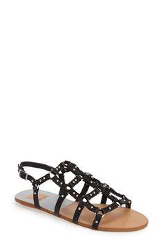 Dolce Vita 'Draycen' Flat Gladiator Sandal (Women) available at #Nordstrom