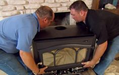 This Old House plumbing and heating expert Richard Trethewey shows how to dramatically increase the heat output of a wood-burning fireplace
