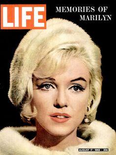 Life Magazine Copyright 1962 Marilyn Monroe Memories - www.MadMenArt.com…
