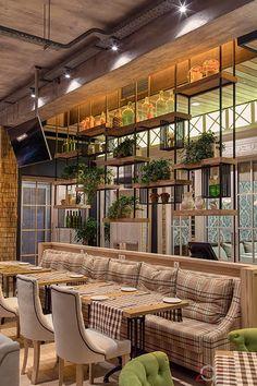Ресторан «O'ZERO» в Киеве | Про дизайн|Сайт о дизайне интерьера, архитектура, красивые интерьеры, декор, стилевые направления в интерьере, интересные идеи и хэндмейд