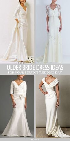 10 Wedding Gowns Perfect For Women Over 50 Second