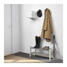 LIXHULT Skab - metal/hvid - IKEA. 25 x 25 x 25 cm, 99 kr