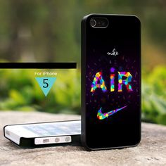 Nike Air Colorfull Abstrac - For iPhone 5 Case, Hard Cover