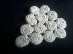 Irish Crochet Lace, grape motif