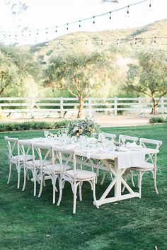 Chic California Cottage Styled Shoot
