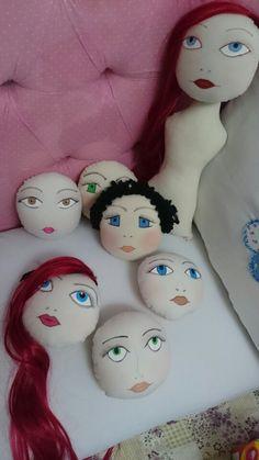 Rostos de bonecas