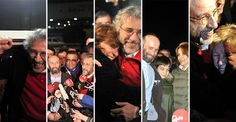 In Photos: Dündar and Gül greeted by friends, family, supporters on release from Silivri Prison