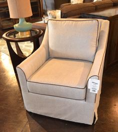 Leah swivel chair www.lifestylescomo.com