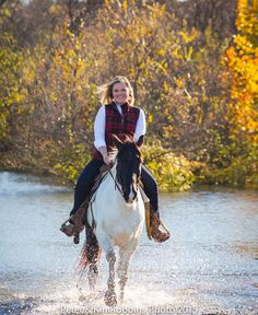 GORGEOUS! Kelly Roberts on Denali. Photography done by Kim and Peter Robbins at Benbrook Stables