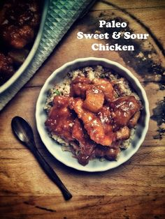 Paleo Sweet and Sour Chicken. (Gluten/Grain/Dairy/Soy Free)